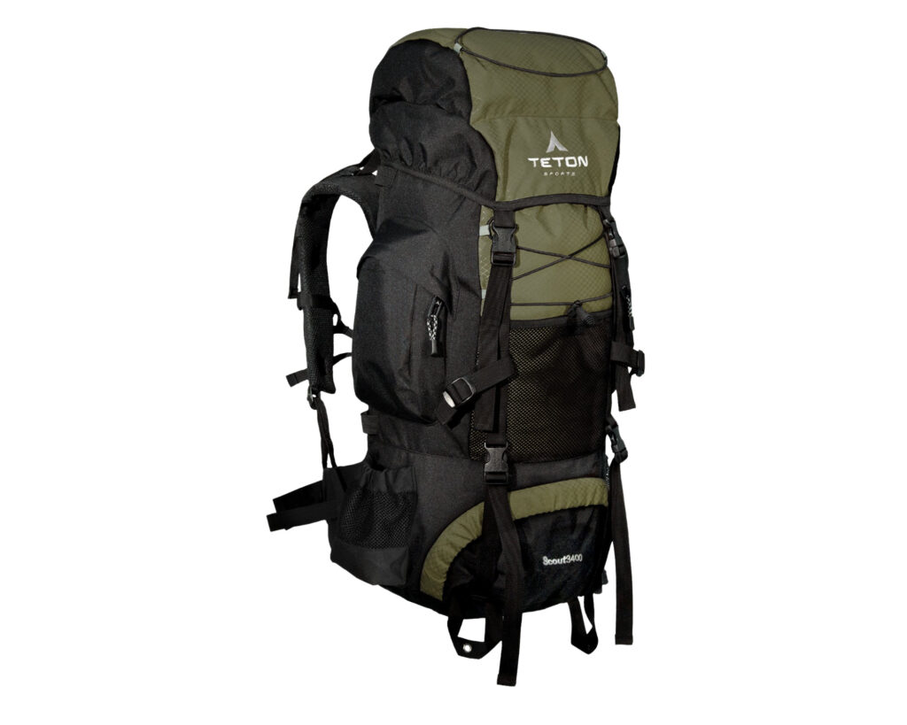 Best backpacks for back pain review: Teton Scout 3400
