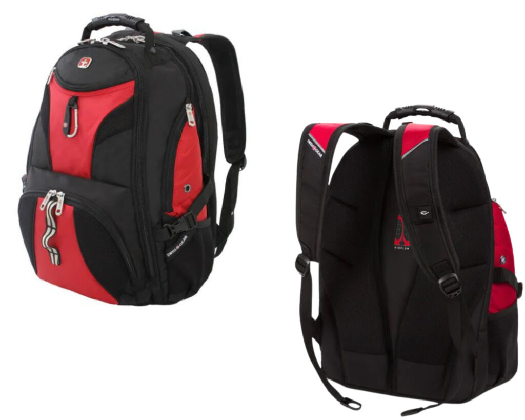Best backpacks for backpain review: SwissGear 1900 ScanSmart Laptop Backpack