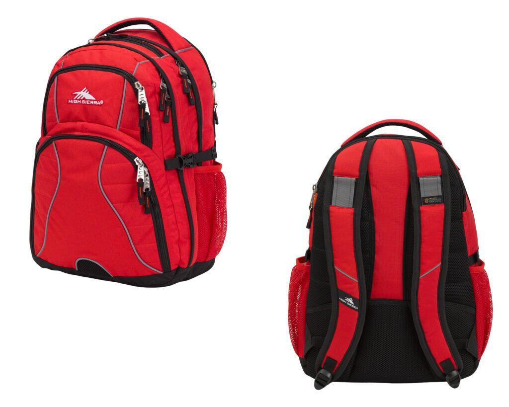 Best backpacks for back pain review: Sierra Swerve Backpack