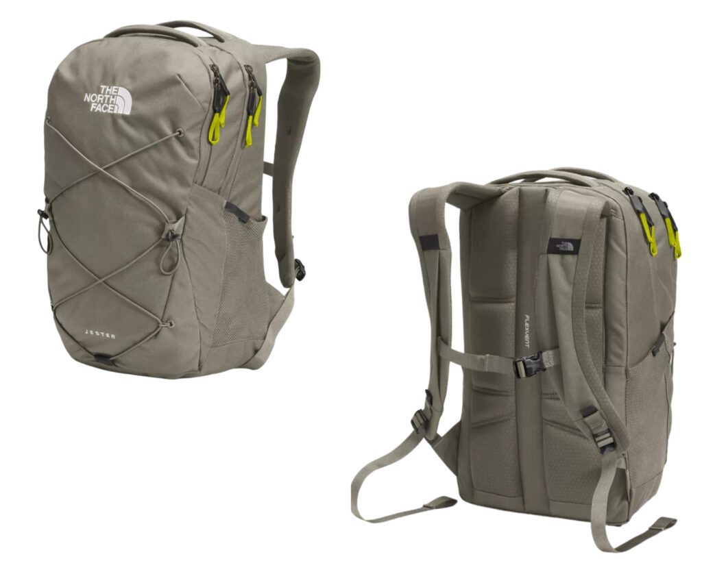 Best backpacks for Back Pains: North Face Jester backpack