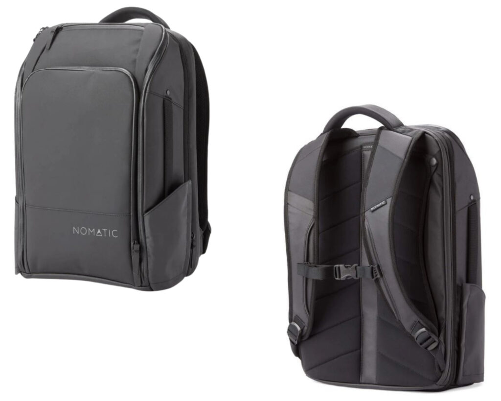 Nomatic Travel Pack review: Nomatic Travel Pack front and back view