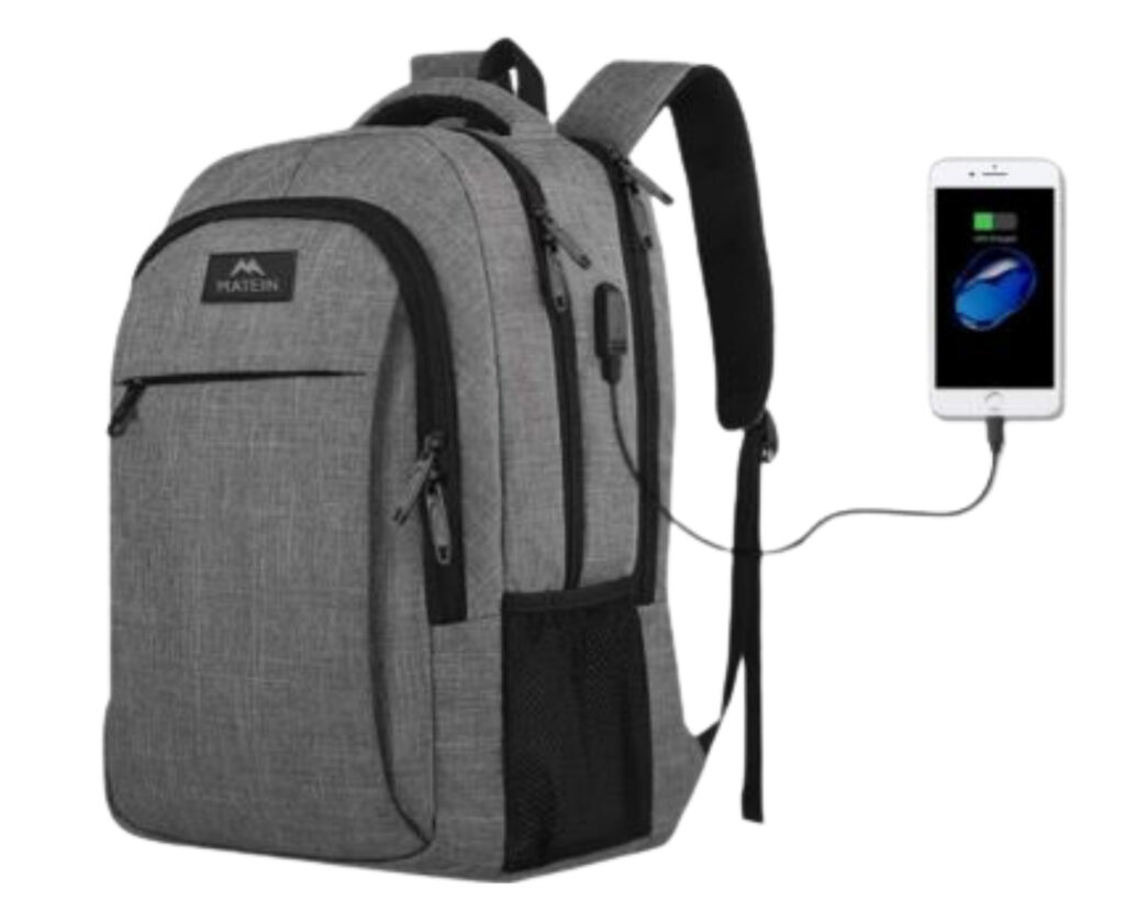 Best backpacks for techies: Matein laptop backpack