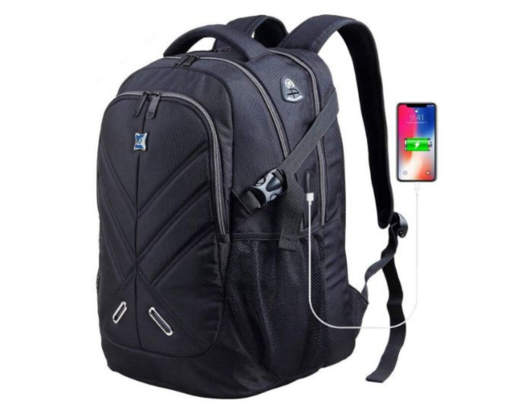 Best backpacks for techies: Outjoy Antitheft laptop backpack