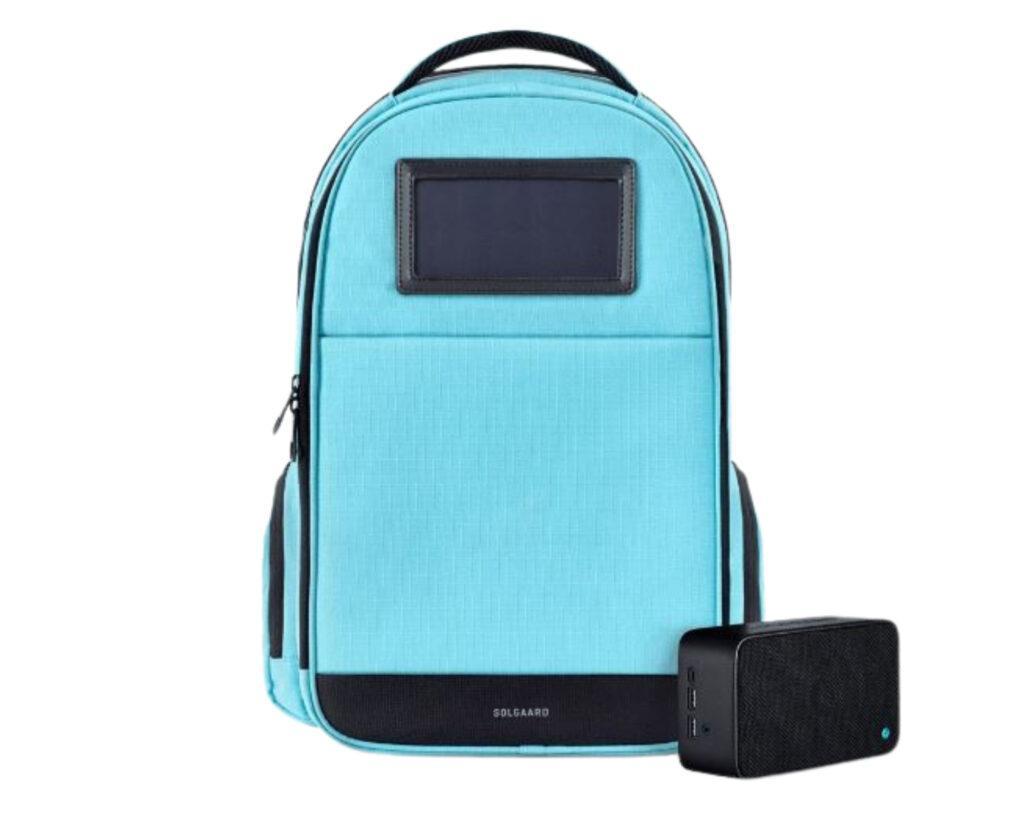 Best backpacks for techies: Solgaard Solar backpack