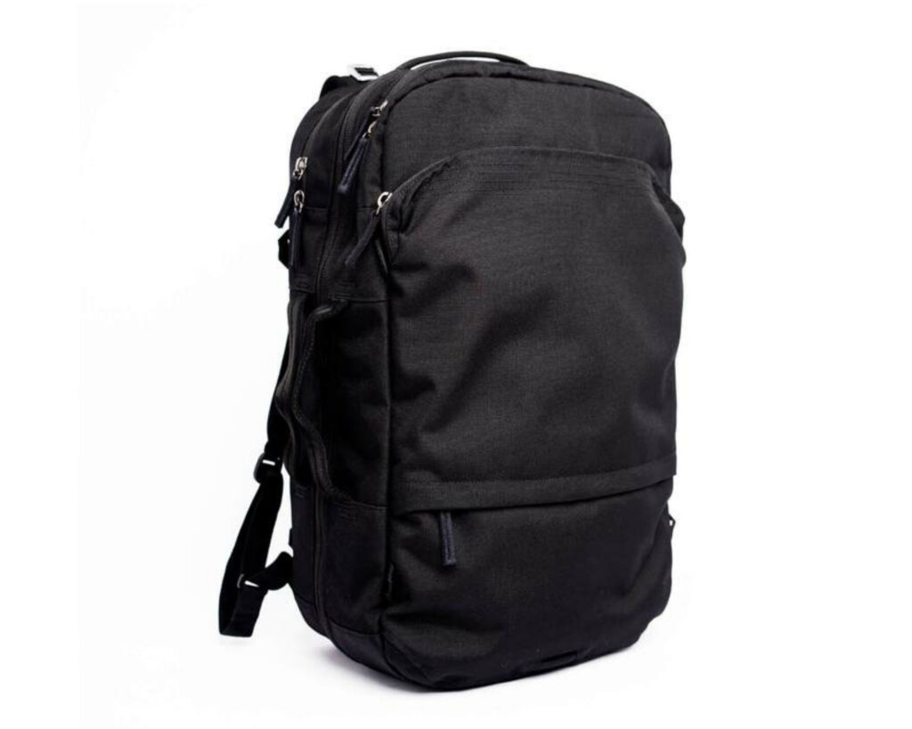Pakt Travel backpack review: the Pakt Travel backpack front view