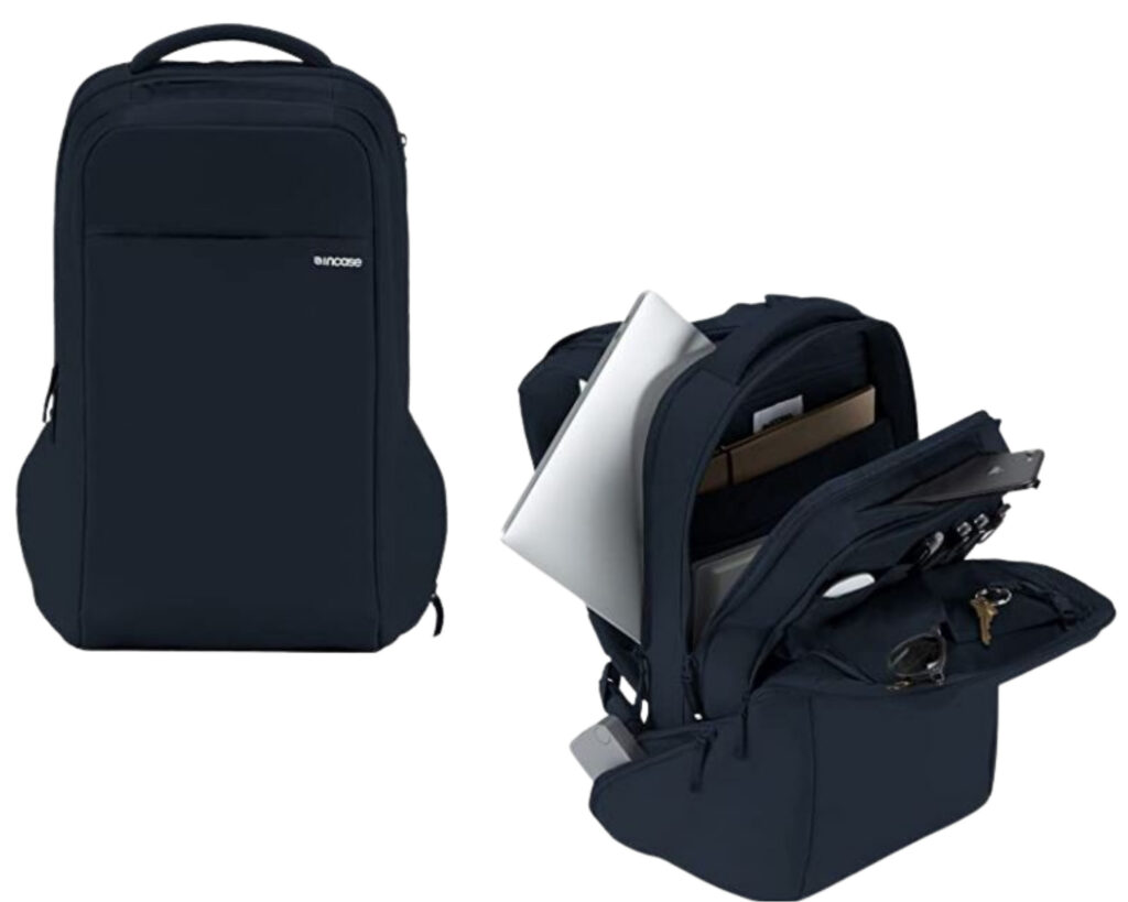 Different types of backpacks: a laptop backpack