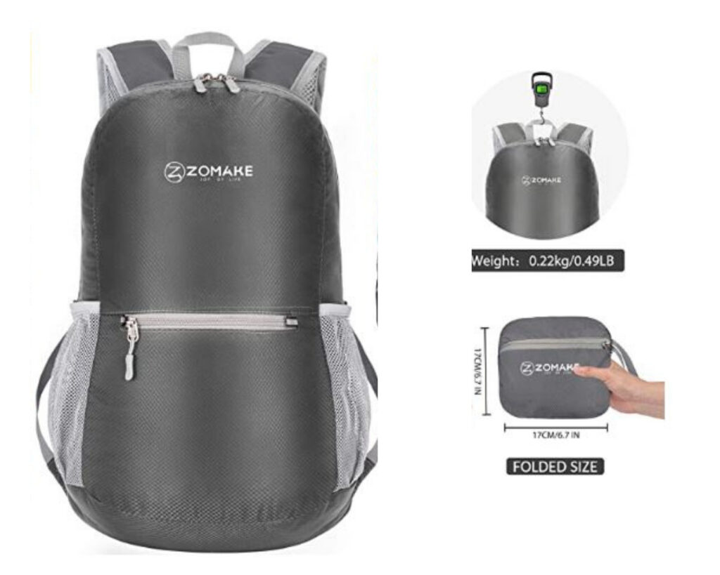 Different types of backpacks: a briefcase backpack