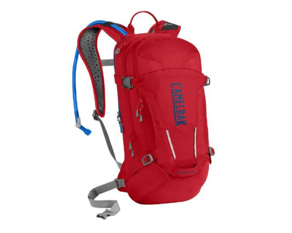 Different types of backpacks: a hydration backpack