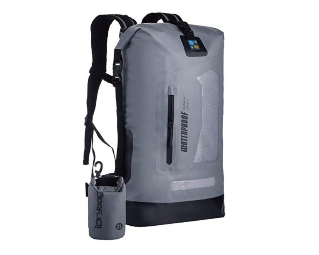 Different types of backpacks: a drybag backpack