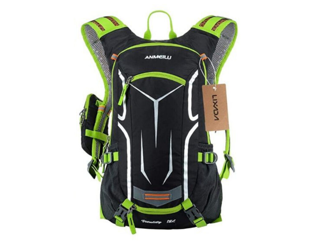 Different types of backpacks: a biking backpack