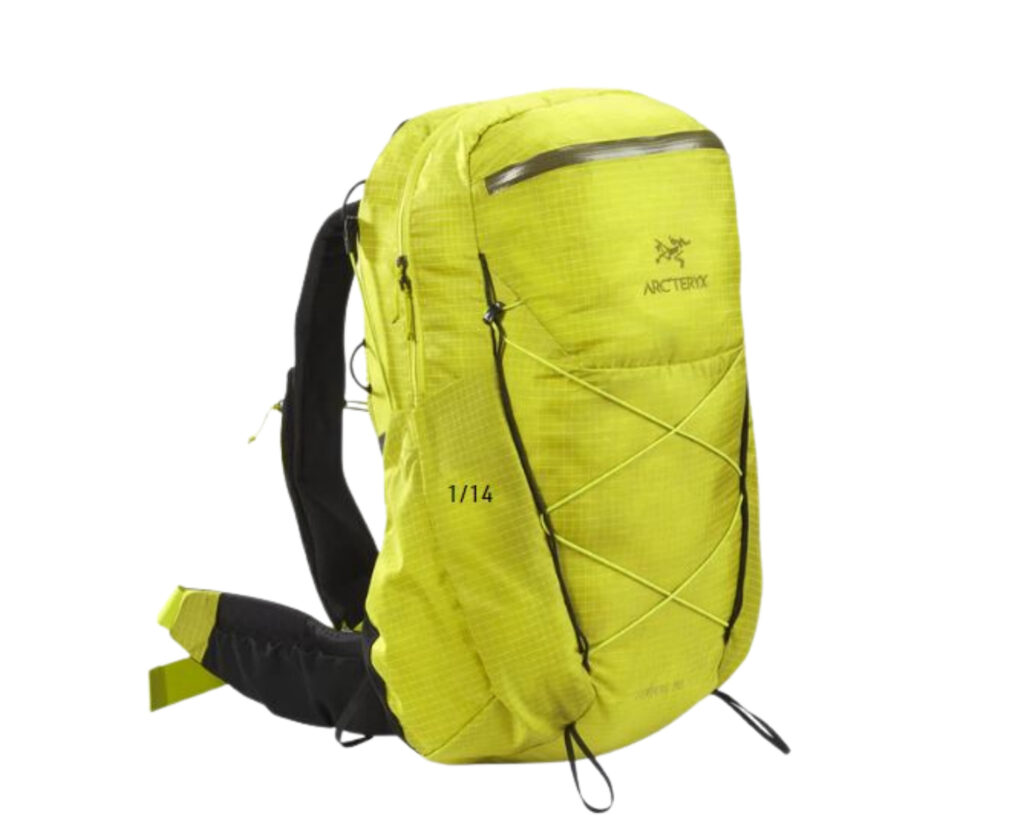 Different types of backpacks: a hiking backpack
