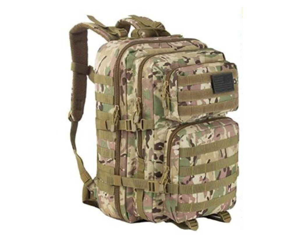 Different types of backpacks: a tactical backpack