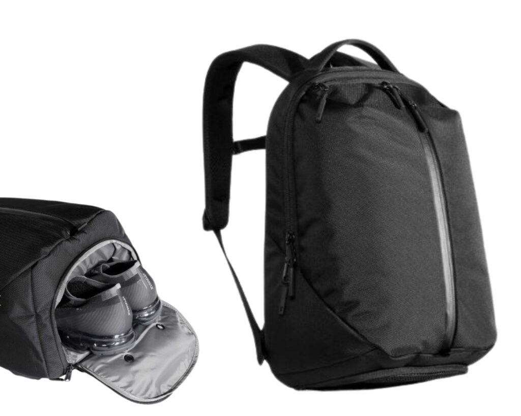 Different types of backpacks: a gym backpack
