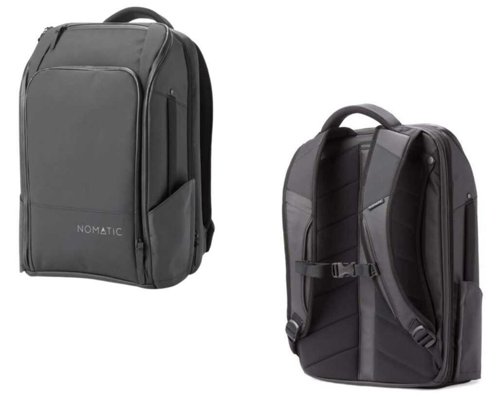 Patagonia Black Hole backpack review: the Nomatic Travel Pack front view