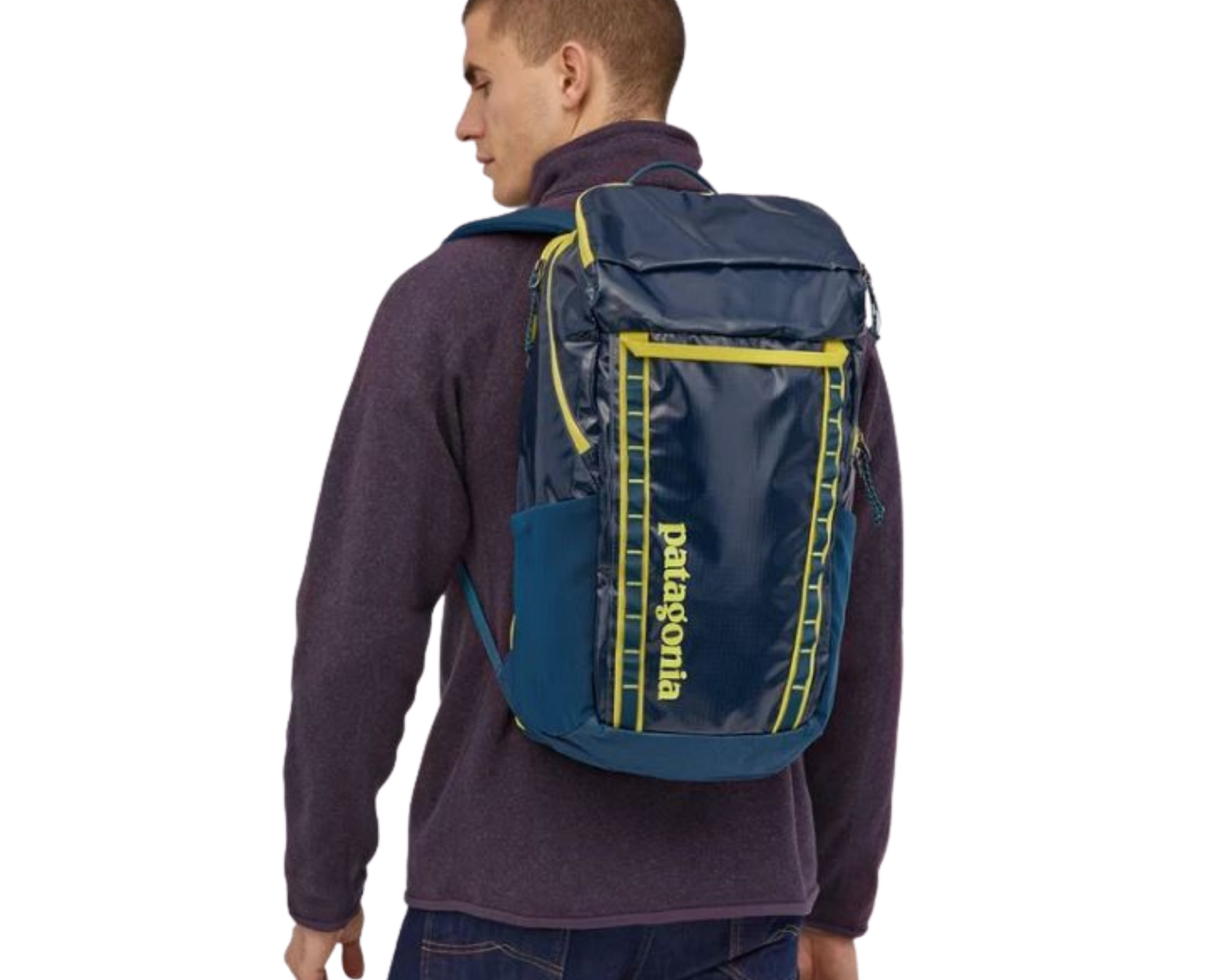 Patagonia Black Hole backpack review: the 32L bag being worn by a male model