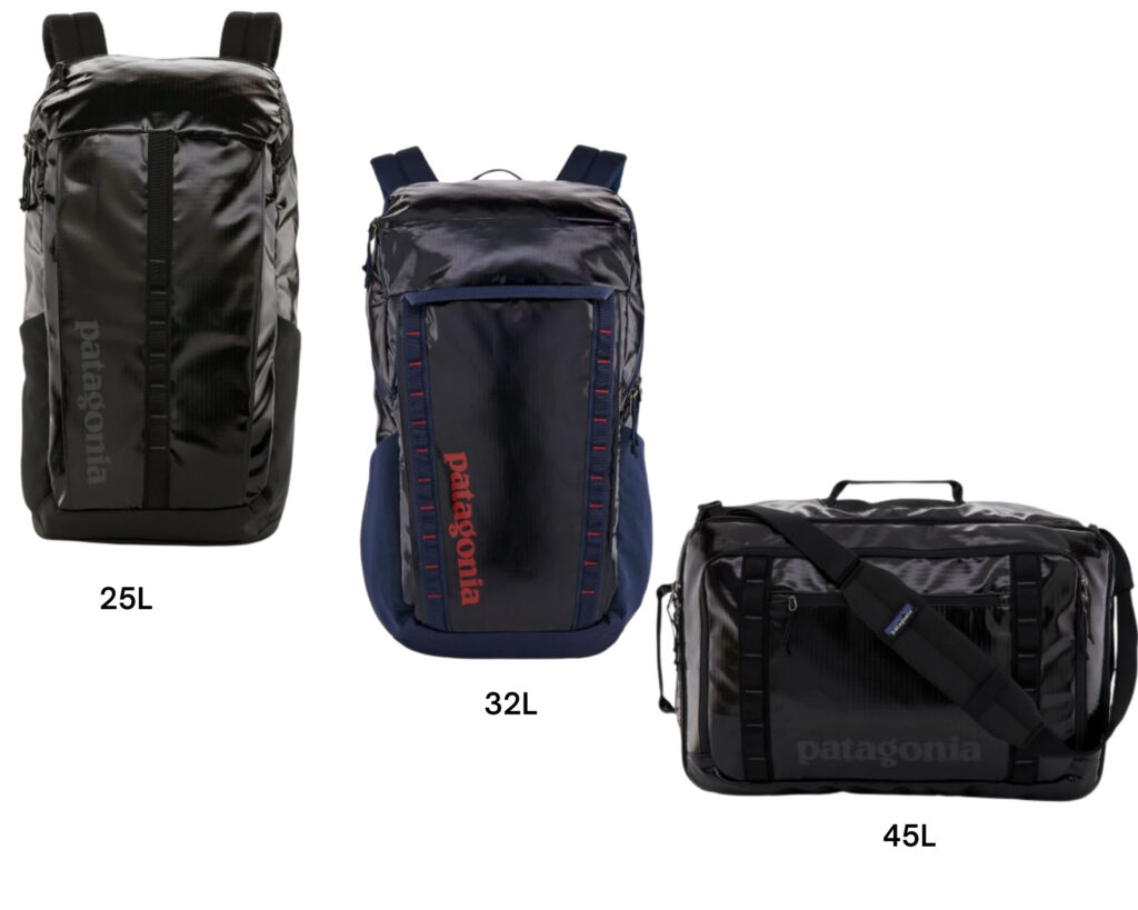 Patagonia Black Hole backpack review: the 25L vs 32l vs 45l backpacks