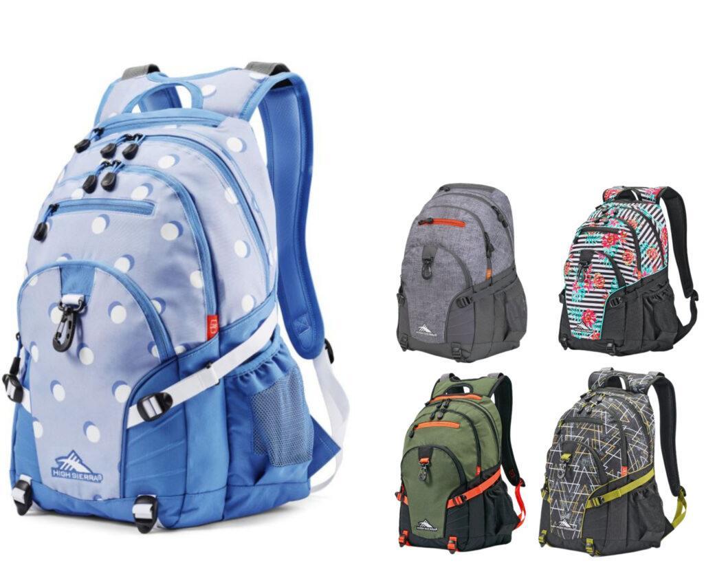 High Sierra Loop Backpack Review: High Sierra backpacks collections