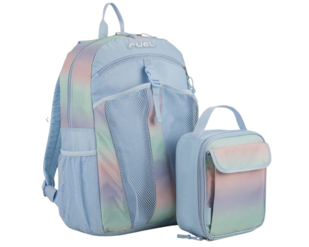 Backpacks with Detachable Lunch Box: Fuel Backpack & Lunch Bag Bundle