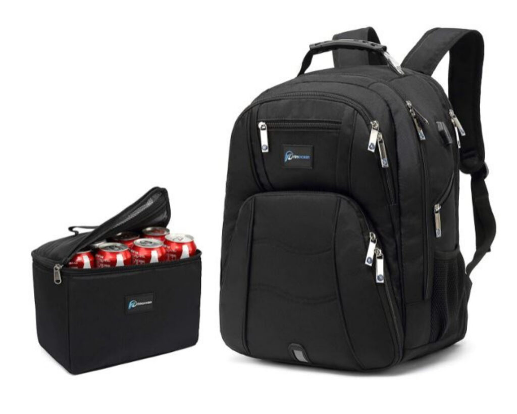 Backpacks with Detachable Lunch Box: Primocean Laptop Backpack with Detachable Lunch box