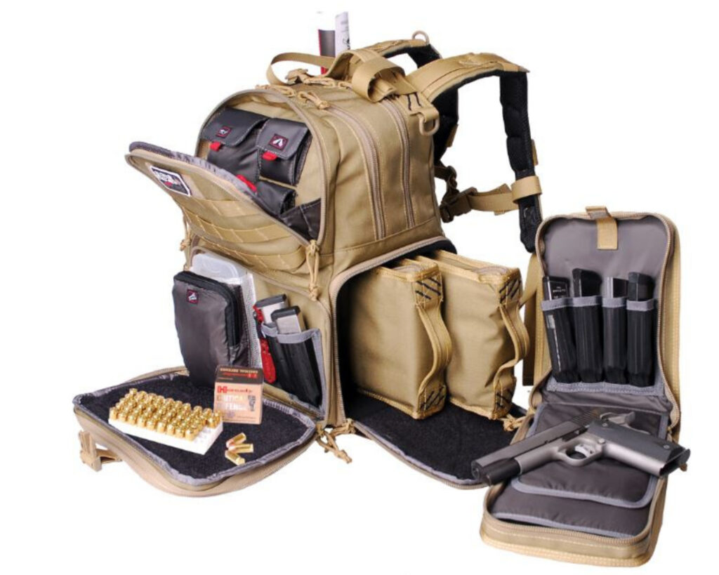 Best concealed carry: G. P. S Tactical Range Backpack