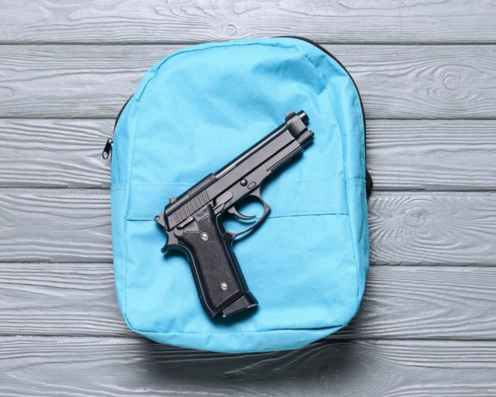 Best concealed carry: a gun on a backpack