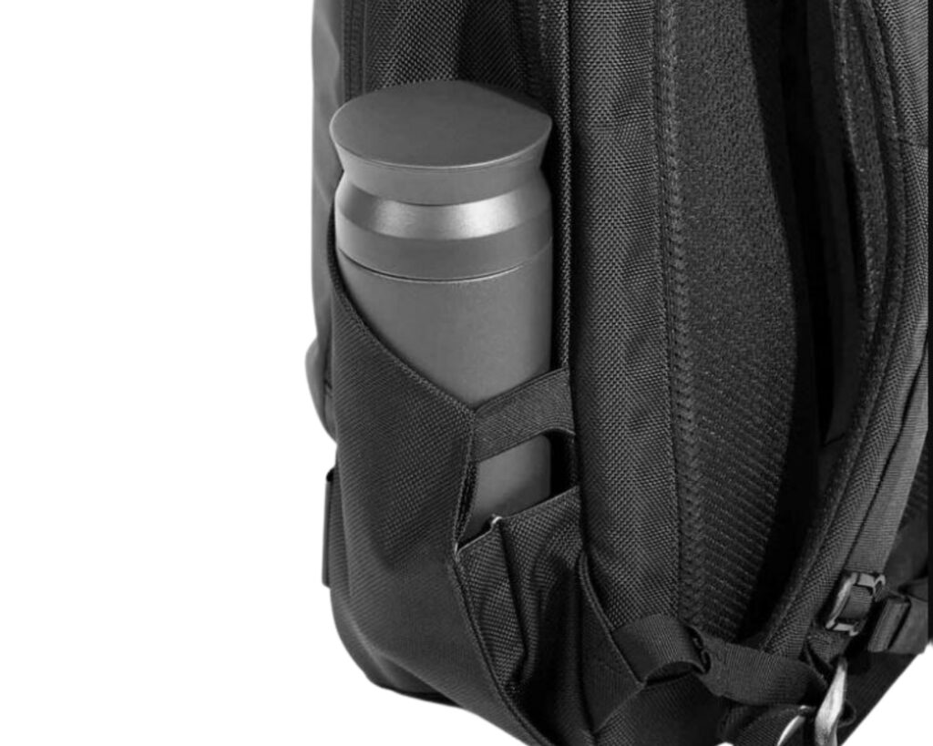 Backpack with water bottle holder: AER Day pack 2