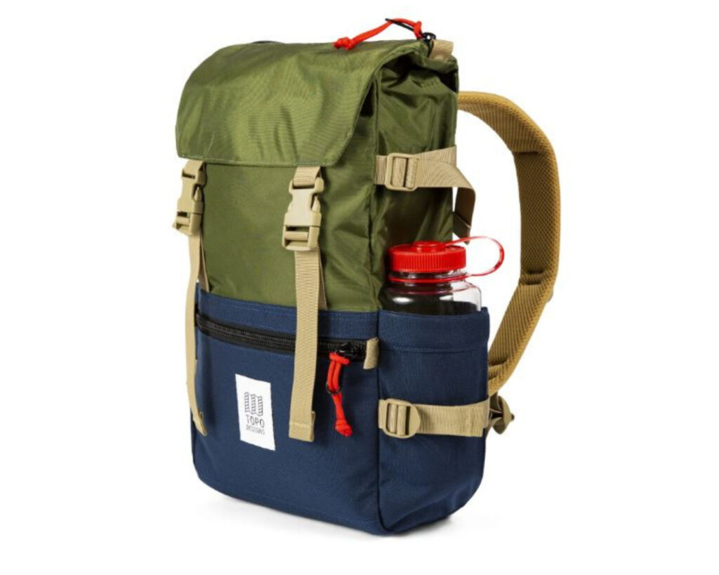 Backpack with water bottle holder: Topo Rover backpack