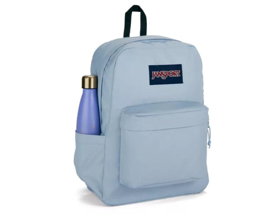 Backpack with water bottle holder: : JanSport Superbreak Plus Backpack