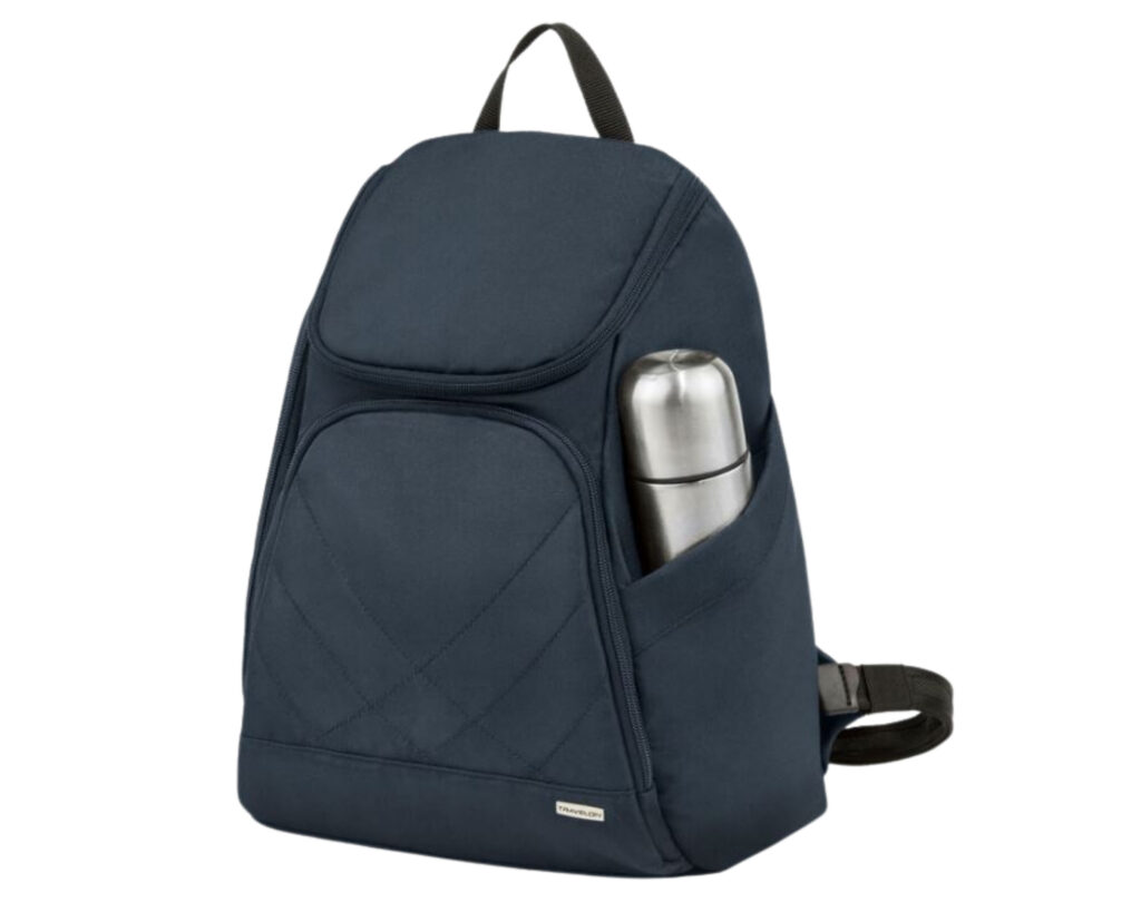 Backpack with water bottle holder: Travelon Antitheft Classic Backpack