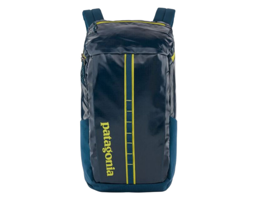 Backpack with water bottle holder: Patagonia Black Hole backpack