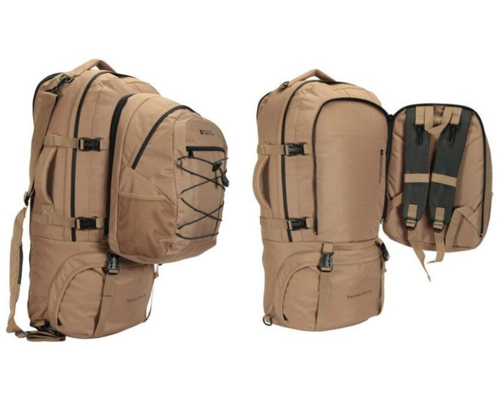 Backpacks with detachable daypack: 10. Mountain Warehouse Traveler Backpack