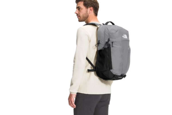 North Face Surge: a male carrying the North Face Surge on his back